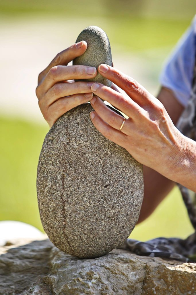 stone-peling